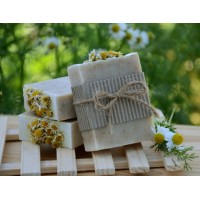 Goat Milk, Chamomile & Honey Bar Soap