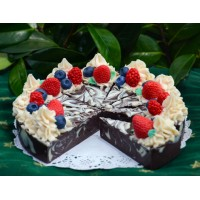 Berry Chocolatey Cake Soap