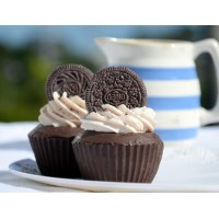 Cookies & Cream Cupcake Soap