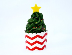 Christmas Tree Sundae Soap